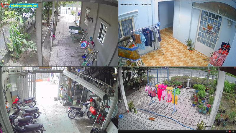 Lắp đặt camera quan sát giá rẽ tại long an