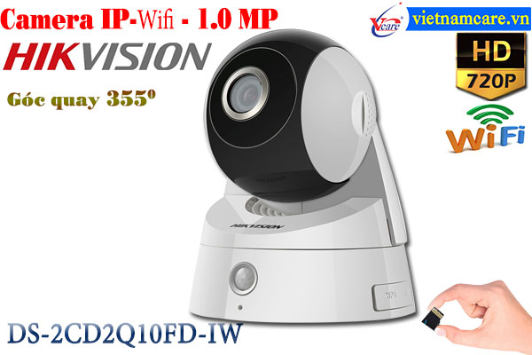 Camera IP-WIFI 1.0 Megapixel HIKVISION DS-2CD2Q10FD-IW