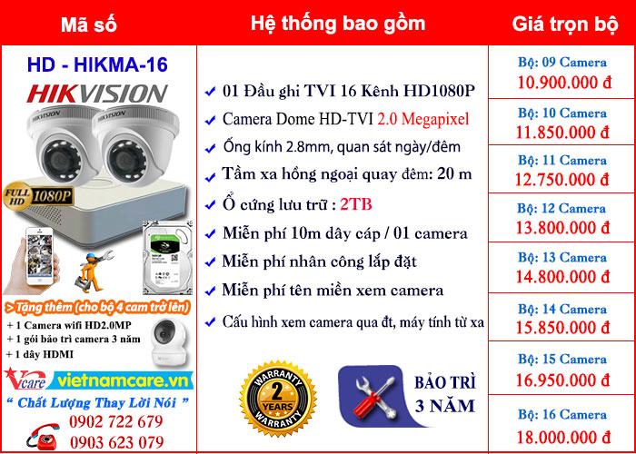 Lắp đặt camera quan sát giá rẽ tại tphcm