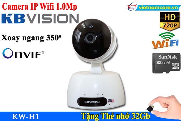 Camera IP  Không dây 1MP KBWIN KW-H1