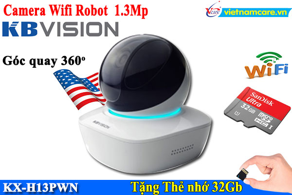 Camera IP Wifi KBVISION KX-H13PWN