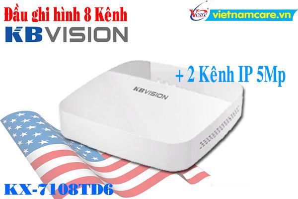 Đầu ghi hình 8 kênh 5 in 1 KBVISION KX-7108TD6