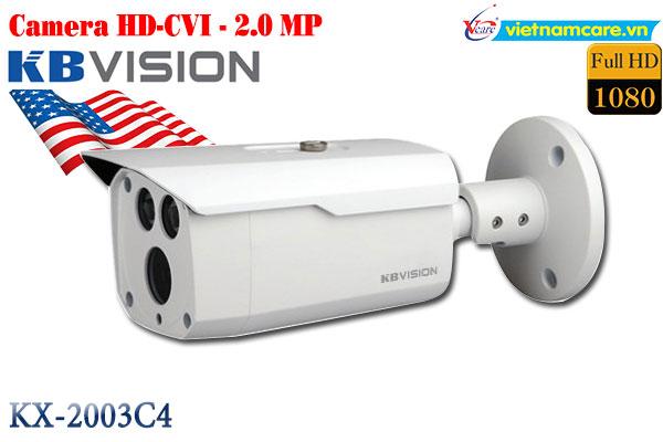 Camera Thân HD 2.0 MP KBVISION KX-2003C4