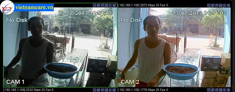 Lắp đặt camera chống ngược sáng