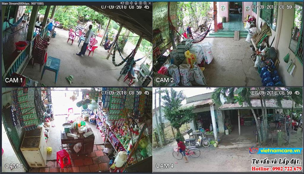 Lắp đặt camera huyện nhà bè