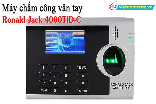 Máy chấm công vân tay RONALD JACK 4000TID-C