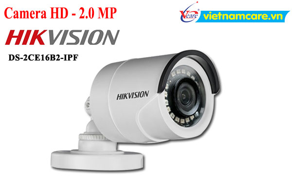 Camera HDTVI 2MP HIKVISION DS-2CE16B2-IPF