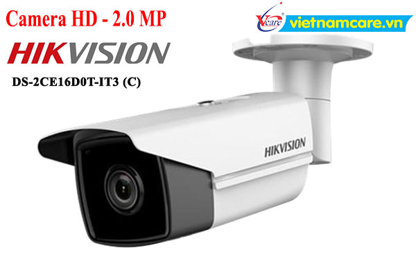 Camera HD-TVI 2.0 Megapixel HIKVISION DS-2CE16D0T-IT3 (C)