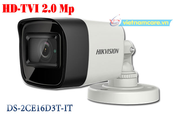 Camera Thân HD-TVI 2.0 Megapixel HIKVISION DS-2CE16D3T-IT