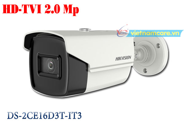 Camera Thân HD-TVI 2.0 Megapixel HIKVISION DS-2CE16D3T-IT3