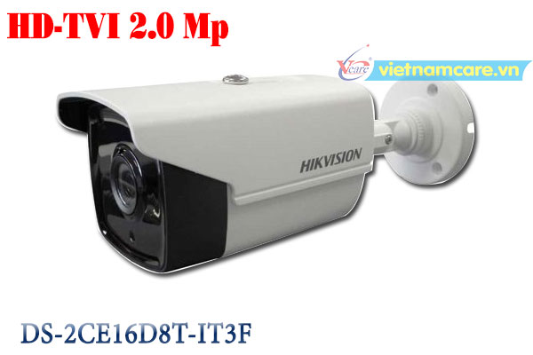 Camera Thân HD-TVI 2.0 Megapixel HIKVISION DS-2CE16D8T-IT3F