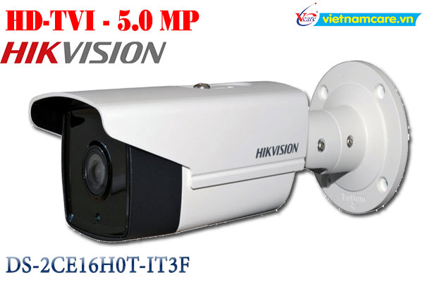 Camera 4 in 1 hồng ngoại 5.0 Megapixel HIKVISON DS-2CE16H0T-IT3F