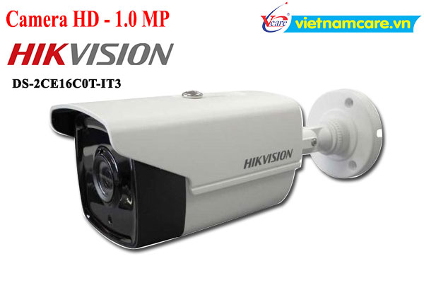 Camera HD-TVI 1.0 Megapixel HIKVISION DS-2CE16C0T-IT3