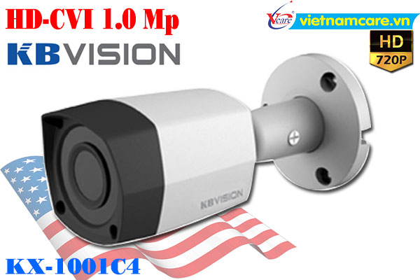 Camera Thân HD 1.0 MP KBVISION KX-1003C4