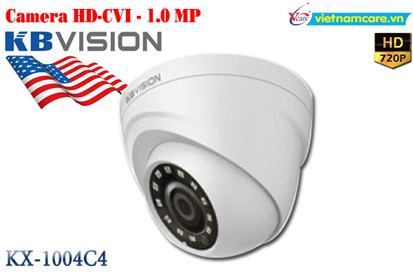Camera dome HD 1.0 MP  KBVISION KX-1004C4
