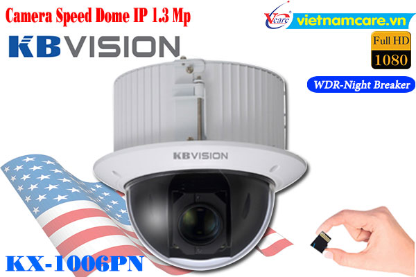 Camera Speed Dome IP Kbvision KX-1006PN (1.3MP)