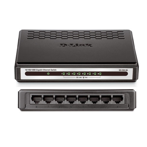 SWITCH D-LINK 8 PORT - DES 1008A