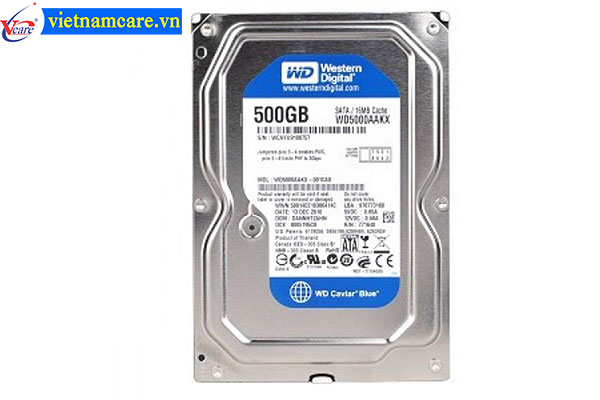 Ổ cứng HDD WD 500GB-5000AZLX  (BLUE)
