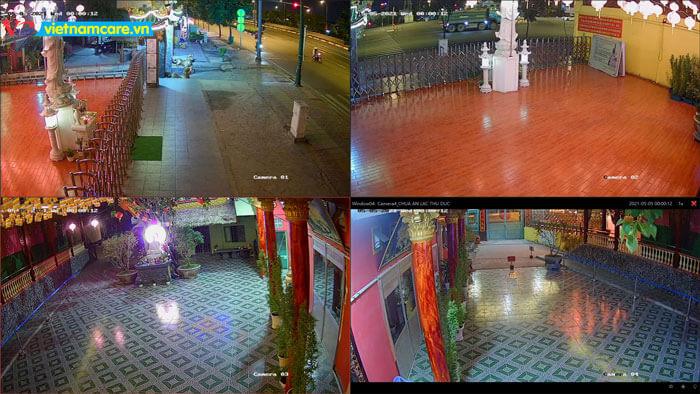 Hình ảnh camera có màu nhìn ban đêm