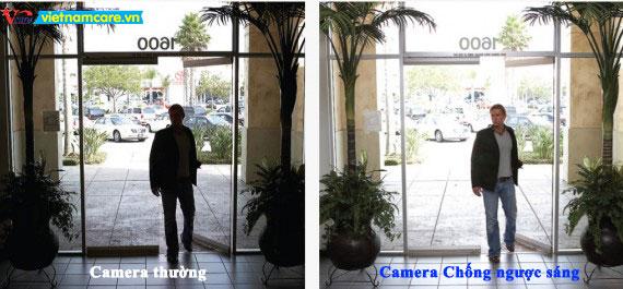 Camera chống ngược sáng thực