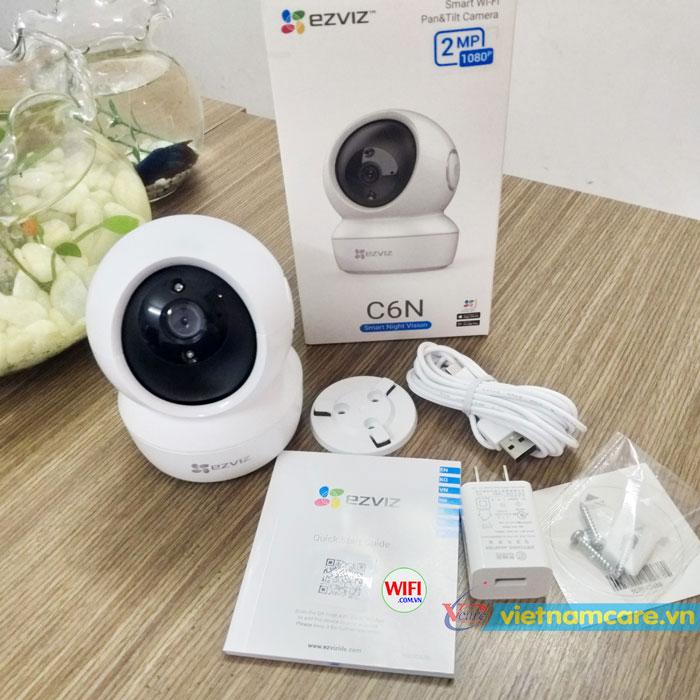 Camera Wifi Smart HD1080p Ezviz CS-C6N-A0-1C2WFR