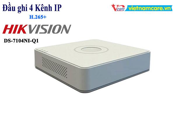 Đầu ghi hình camera IP 4 kênh HIKVISION DS-7104NI-Q1