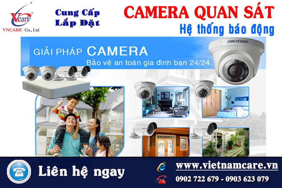 Lắp đặt Camera cho gia đình tại tphcm